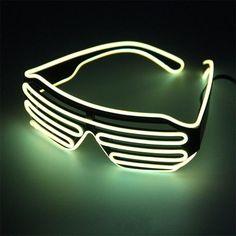 0d293719ea8 Flashing LED Novelty Glasses