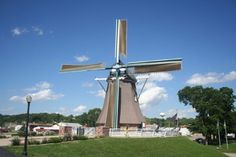 1. Fulton has a really, really big windmill in town.