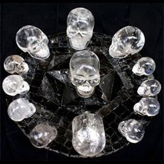 Why would so much work and time be spent on perfecting a human skull made out of one of the hardest substances known to man after diamonds, rock crystal? Description from secret62.blogspot.com. I searched for this on bing.com/images