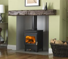 mobilehomecar… provides some guidance on how to install a stove in a mobil… - Wood Burning Fireplace Inserts Wood, House, Home, New Homes, Stove, Fireplace, Wood Burning Fireplace, Burley Stove, Wood Burning Stove