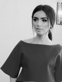 Makeup Lilly Collins