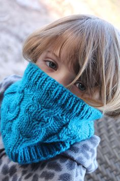 Free Knitting Pattern for Fledgling Owl Cowl - This cable cowl by Thread Forward is a quick knit in bulky yarn.