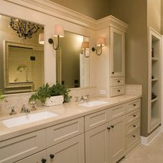 1000 images about jack jill bathroom on pinterest for Jack and jill bathroom vanity
