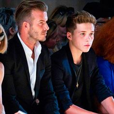 David Beckham TOTALLY embarrassed Brooklyn on Instagram with *this* post! Awks: http://lookm.ag/wpoQWh