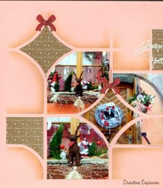 Gabarit Féerie Scrapbooking Layouts, Scrapbook Pages, Fairy Stencil, Stencils, Mandala, Arts And Crafts, Table Decorations, Christmas, Inspiration