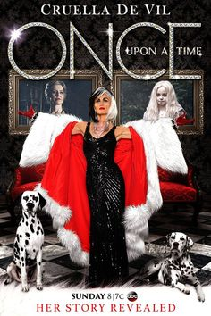 #Cruella - ABC Promotional Poster #OUAT #OnceUponATime