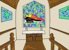 Nike Spring/Summer 2013 Footwear   Illustrated Preview by Josh Parkin
