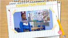 """Zenele Jacobs teachers at Dalubuhle Primary School. She delivers an isiXhosa phonics lesson for the sound is """"gcw"""". She starts by reading a story and the chi. Phonics Lessons, Teaching Techniques, Primary School, Grade 1, Scissors, Literacy, Foundation, Teacher, Classroom"""