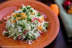 Cabbage and Bell Pepper Salad Recipe | NatashasKitchen.com (loved)
