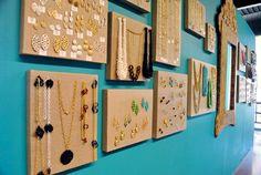 amazing hanging jewelry storage