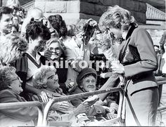 September 29 1987 Diana, Patron, Help the Aged, visits the Age Concern Day Centre, Atherton Street in Durham.  Diana, Patron, British Deaf Association, visited Durham University to see project work associated with higher education for the deaf.