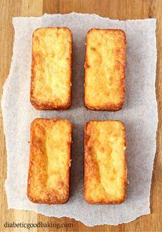 Cheese Biscuits - almond flour, cream cheese, cheddar, butter, egg, baking powder, baking soda