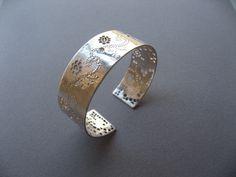 Sara Bran - Silver cuff bracelet