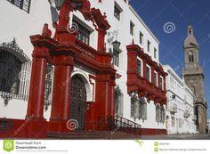 Civic center of the city of La Serena Chile