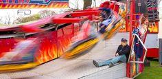 Fair ground ride in motion by Khalid_Fineza  Details