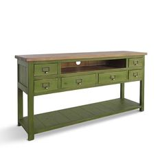 Media Console, TV Stand, Console Table, Reclaimed Wood, Entertainment Console, Sideboard, Handmade, Rustic - DIFFERENT COLOR