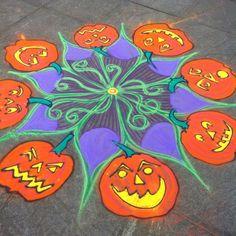 Sand Painting, Sand Art, Happy Halloween, Street Art, Self, Nyc, Kids Rugs, Create, Awards