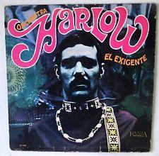 ORCHESTRA HARLOW El Exigente ORIGINAL GOLD FANIA 342 US LP Boogaloo Guarcha Rumb