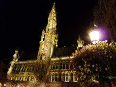 Brussels - L'Hotel de Ville in the Grand Place. Anyone who thinks Brussels (or Belgium) is worth skipping over has not seen the Grand Place. It is magnificent and on its own it is worth the trip. (my photo)
