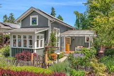 Sundown Cottage - One of many off-grid small cottages in Greenwood Avenue Cottages in Shorline, Washington. | pinned by haw-creek.com