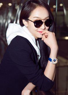 Victoria Song Qian, Victoria Song, Sunglasses Women, Songs, Fashion, Moda, Fashion Styles, Song Books, Fashion Illustrations