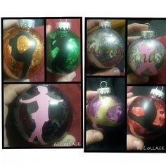 Personalized Christmas Glitter Ball Ornaments : 1 side design TO BUY: Comment with your email address and you'll receive a secure checkout link. Price: $6.00. Choose Any Occasion & Designs. I will try to find best designs to fit your ideas.. Our first Xmas Baby's first xmas Our First Xmas as a family Dogs Cats Grandma Grandpa Aunts Uncles Big Sister/brother Lil Sis/bro Military Occupations etc.. possibilities are almost endless.... Personalized Christmas Ball Ornament. each ornament is hand…