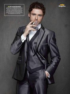 Richard Madden in Esquire South America via a fan site