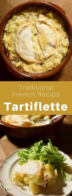 Tartiflette is an iconic French recipe from the Savoy region, of potatoes au gratin, onion, and bacon, with reblochon cheese and white wine. #France #FrenchRecipe #FrencFood #FrenchCuisine #WorldCuisine #196flavors French Dishes, French Food, Traditional French Recipes, Cheese Recipes, International Recipes, Other Recipes, White Wine, Holiday Recipes, Onion