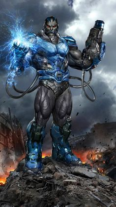 Apocalypse by John Gallagher (Marvel comics) Marvel Dc Comics, Anime Comics, Comics Und Cartoons, Comic Manga, Marvel Villains, Marvel Vs, Marvel Heroes, Captain Marvel, Comic Book Characters