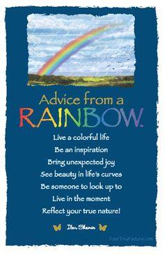 Advice from a Rainbow