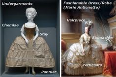 underpinnings! http://www.halloweencostumes.com/blog/post/2011/09/19/historical-costumes-guide-marie-antionette.aspx