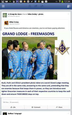 George W Bush, Vladimir Putin, China's President Religion, George W Bush, Illuminati Secrets, Illuminati Conspiracy, Illuminati Symbols, Le Vatican, Wladimir Putin, Frases, Knights Templar