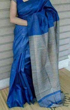 114 best Silk Sarees photos by Blue Silk Saree, Indian Silk Sarees, Tussar Silk Saree, Soft Silk Sarees, Kerala Saree, Cotton Saree, Sarees For Girls, Modern Saree, Simple Sarees
