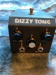 Elka Dizzy Tone 1967/1968 - Vintage Fuzz Pedal!