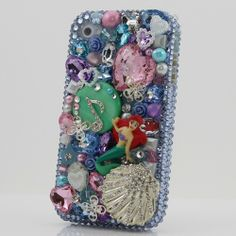 "Style 241 This Bling case can be handcrafted for iPhone 4/4S, 5, 5S, all Samsung Galaxy models (S3, S4, Note 2). The current price is $79.95 (Enter discount code: ""facebook102"" for an additional 10% off during checkout)"