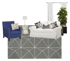A home decor collage from October 2015 featuring fabric chairs, expandable table and west elm furniture. Interior Decorating, Interior Design, West Elm, Interiors, Throw Pillows, Studio, Live, Bed, Polyvore