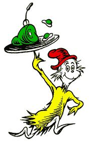 Dr Seuss Party Room Decorations - Green Eggs and Ham Life Size Cardboard Stand In Dr. Seuss, Dr Seuss Art, Dr Seuss Week, Dr Suess Characters, Book Characters, Cartoon Characters, Dr Seuss Birthday, Happy Birthday, Dr Seuss Clipart