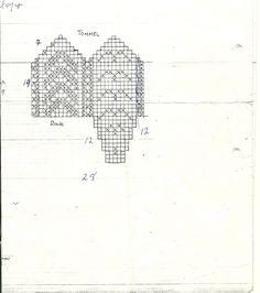 Sandarvotten (Jan Egil Kristiansen) Tags: scan mittens votter strikkemønster sandarvotten
