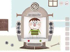 Locomaster Lucas Crazy Mashine | iPad iPhone Kids App
