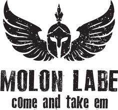 Molon Labe shirt I designed. Come and take em! #gun #military #patches