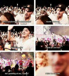 Kendall imitates the entire fandom...HAHA YES EVERY FANDOM GIRL EVER. Hahaha. Asshole. ;)