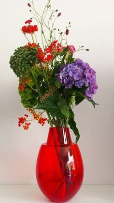 Hortensia boeket door Susanne © SBZ Interieur Design (StijlvolStyling.com)