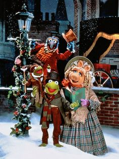 Muppet Christmas I watch this every year but this yr my VHS (lol) was messing up. Do sad