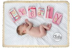 Love these letter blocks! Would love to take pictures like this with them too!