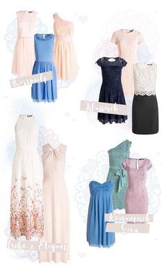 Hochzeitsgast Kleider von Klassisch bis Romatisch oder im Boho Look / Wedding / Guest Dresses / Bridesmaid Dresses / prom Dresses / Brautjungfern