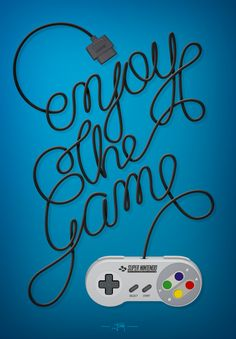 Enjoy The Game! https://www.behance.net/gallery/15920437/Enjoy-The-Game
