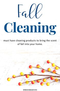 Must - Have Fall Cleaning Products - Army Wife With Daughters Fall Cleaning, House Cleaning Tips, Diy Cleaning Products, Cleaning Hacks, Organizing Tips, Cleaning Recipes, Pumpkin Spice Coffee, Spiced Coffee, Autumn Activities For Kids