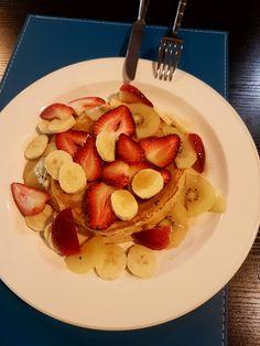 Wholemeal pancakes healthy eating  No add sugar naturally taste good