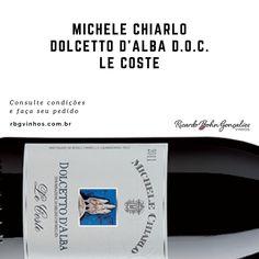 Se fizermos uma pesquisa sobre quem são os mais importantes produtores de Dolcettos D´Allba no mundo sem duvida apareceria o nome Michele Chiarlo. Visite nossa adega: www.rbgvinhos.com.br