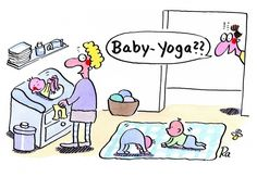 Kindergarten_KiGaPortal_Cartoon_Renate-Alf_Baby-Yoga